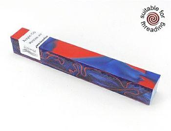 Kirinite Vivid Blue pen blank